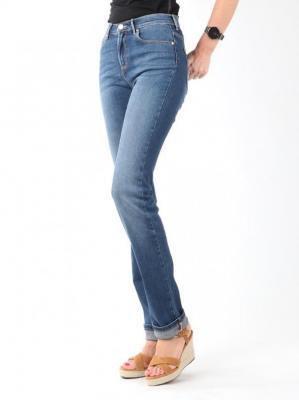 Jeansy Wrangler High Slim W27GX785U