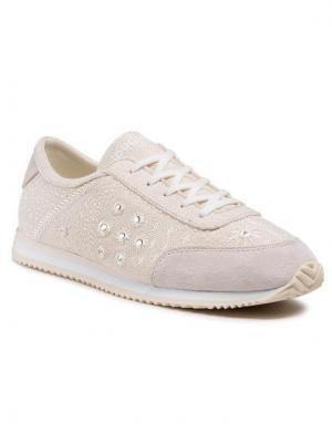 Desigual Sneakersy Royal Exotic 21SSKA09 Beżowy