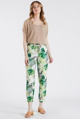 Letnie spodnie ze wzorem