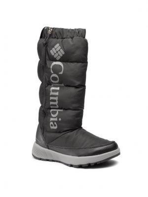 Columbia Śniegowce Paninaro Omni-Heat Tall 1917951010 Czarny