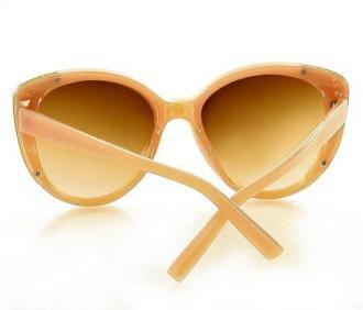 Kultowe okulary przeciwsłoneczne MAZZINI CAT EYE beż
