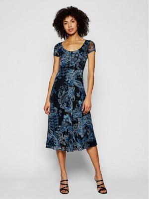 Desigual Sukienka codzienna Capri 21SWVKAI Czarny regular_fit