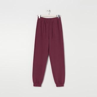Sinsay - Spodnie dresowe - Fioletowy