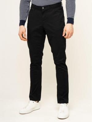 MICHAEL Michael Kors Spodnie materiałowe Chinos CS93CKM3DR Czarny Slim Fit