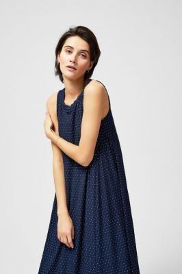 Sukienka maxi w kropki