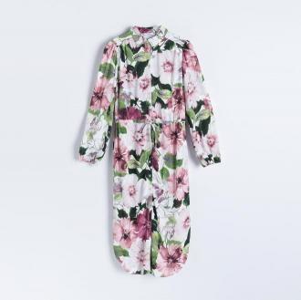 Reserved - Szmizjerka w kwiaty - Różowy