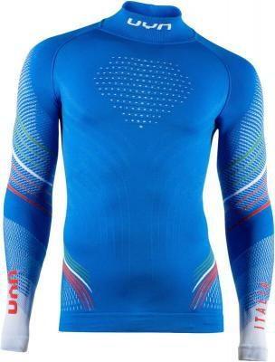 UYN Natyon 2.0 UW LS Turtle Neck Shirt, niebieski XS 2021 Koszulki bazowe termiczne i narciarskie