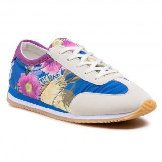 Sneakersy DESIGUAL - Royal Flowers 21SSKA10 5060