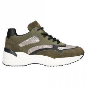 Wojas Ciemnozielone Sneakersy Dla Aktywnej Kobiety