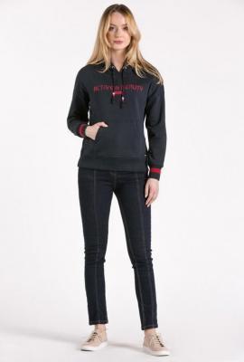 Sportowa bluza z kapturem