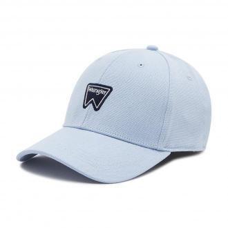 Czapka z daszkiem WRANGLER - Logo Cap W0U5U5XVT  Cerulean Blue