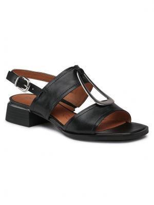 Caprice Sandały 9-28206-26 Czarny