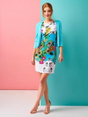Sukienka w kwiaty Smashed Lemon 20120