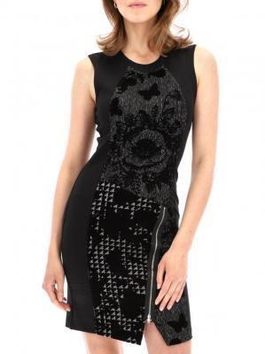 Wieczorowa sukienka czarna Desigual VANE