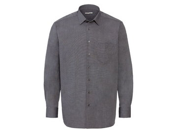 NOBEL LEAGUE® Koszula biznesowa męska antracytowa