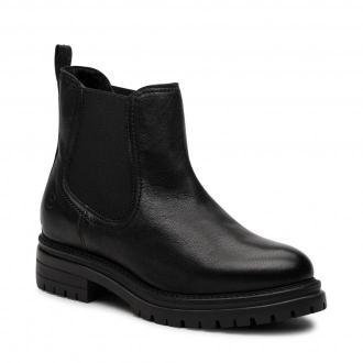Sztyblety TAMARIS - 1-25496-27 Black Leather 003