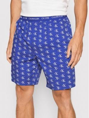 Calvin Klein Underwear Szorty piżamowe 000NM1868E Niebieski