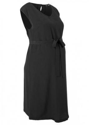 Sukienka ciążowa bonprix czarny