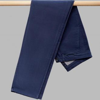 spodnie torrette granatowy classic fit
