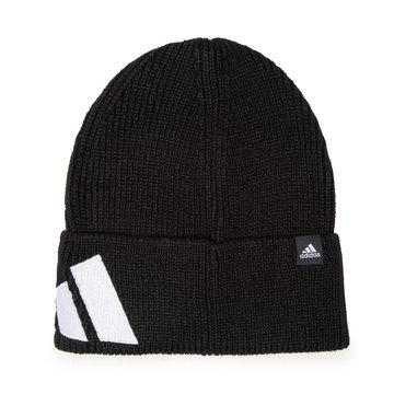 Czapka adidas - Fi Beanie H26615 Black/Black/White