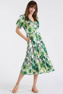 Idealna na co dzień sukienka z wzorem