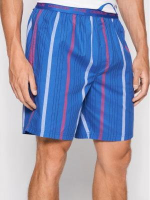 Calvin Klein Underwear Spodnie piżamowe 000NM1868E Niebieski