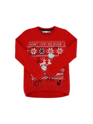 Sweter z motywami świątecznymi Desigual PETUNIA