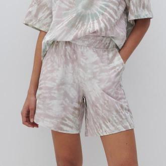 Reserved - Bawełniane szorty - Wielobarwny