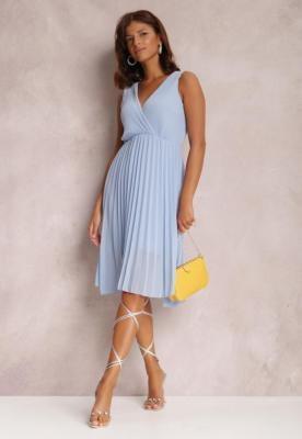 Jasnoniebieska Sukienka Corimis