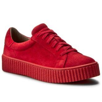 Sneakersy NESSI - 17111 Czerwony W