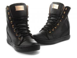 Czarne sneakersy Sofia