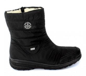 Śniegowce Rieker Z7082-00 Black Czarny