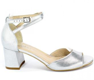 Sandały Kotyl 3805K Srebrny Skóra