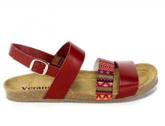 Sandały Verano 2848 Rojo Ad Elastico Fantasia