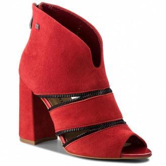 Sandały MACCIONI - 622.124.8905 Czerwony