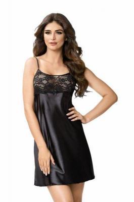 Donna Iris czarna Koszula nocna