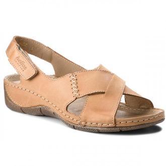 Sandały HELIOS - 229-1 Jasny Brąz