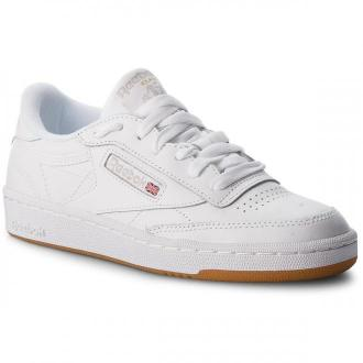Buty Reebok - Club C 85 BS7686  White/Light Grey/Gum
