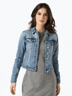 Vila - Damska kurtka jeansowa – Show, niebieski