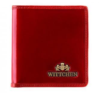Mały skórzany portfel damski