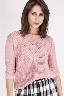 Sweter Penny SWE 041 Pudrowy róż
