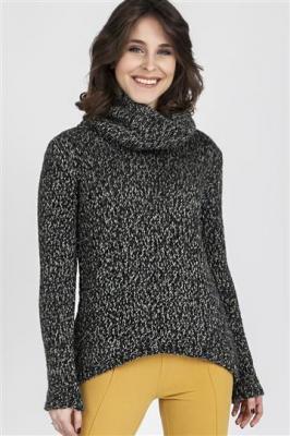 Sweter Nicola SWE 103 Grafitowy