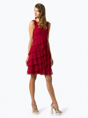 Swing - Elegancka sukienka damska, czerwony