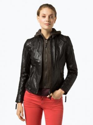Gipsy - Damska kurtka skórzana – Cacey, czarny