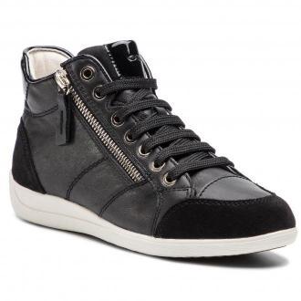 Sneakersy GEOX - D Myria C D6468C 08522 C9999 Black