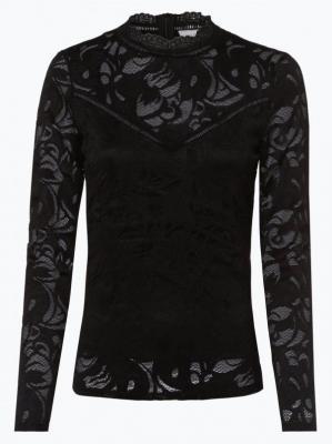 Vila - Damska koszulka z długim rękawem – Vistasia, czarny