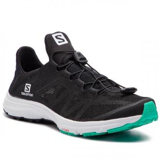 Buty SALOMON - Amphib Bold W 406823 20 V0 Black/White/Electric Green