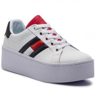 Sneakersy TOMMY JEANS - Icon Sneaker EN0EN00556  Rwb 020