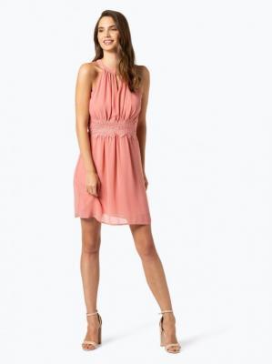 Vila - Damska sukienka wieczorowa – Vimilina, różowy