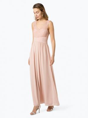 Vila - Damska sukienka wieczorowa – Vitalima, różowy